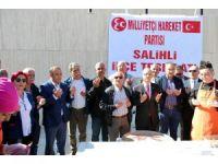 Salihli MHP'den aşure hayrı