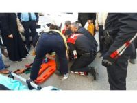 Zonguldak'ta otomobil yayaya çarptı: 1 yaralı