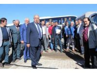 Belediye Başkanı Hüsrev Kutlu yaptığı hizmetleri gazetecilere anlattı