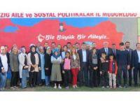Elazığ'da çocuklara spor malzemesi dağıtıldı