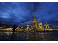 Tayland Kralının yakılacağı saray tamamlandı