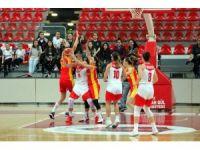 Eurocup Kadınlar: AGÜ Spor: 70 - Sleza Wroclaw: 72