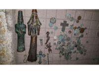 Adana'da 'Huzur' uygulamasında Roma dönemine ait 141 parça tarihi eser yakalandı