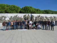Karaman'da üniversiteli öğrenciler geziden döndü