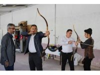 Karaman'da geleneksel Türk okçuluğu tanıtıldı