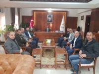 AK Parti İl Başkanı Yanar, Vali Aktaş'ı ziyaret etti