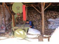 Oduncuların kış hazırlığı devam ediyor
