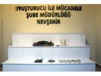 Nevşehir'de 1 kilogram esrar ele geçirildi