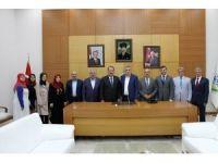 Başkan Toçoğlu, Genel Başkan Yardımcısı Karacan'la bir araya geldi