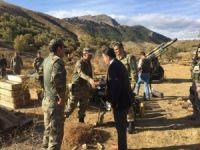 Mutki Kaymakamından terörle mücadele eden askere ziyaret