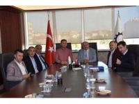 Başkan Kadir Albayrak Çerkezköy TSO Başkanı Kozuva ile görüştü