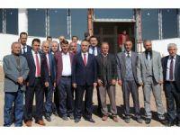 Başkan Aydın, devam eden projeleri gezdi