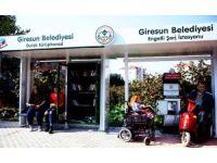 Türkiye'de ilk defa 'Durak kütüphane ve engelli şarj istasyonu' Giresun'da açıldı