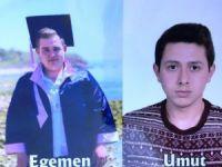 Motor kazasında ölen gençler Türk bayraklarıyla uğurlandı