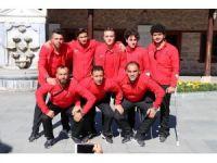 Ampute Futbol Milli Takımı'ndan Mevlana Müzesi'ni ziyaret