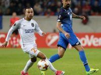 UEFA Avrupa Ligi: Hoffenheim: 0 - Medipol Başakşehir: 0 (İlk yarı)