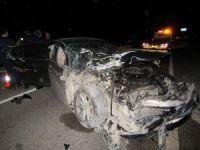 Afyonkarahisar'da zincirleme trafik kazası: 7 yaralı