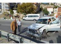 Harun Kolçak'ın babası Eşref Kolçak kaza yaptı