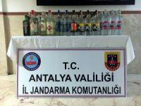 Manavgat'ta uyuşturucu ve kaçak içki operasyonu
