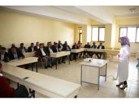 Karaman'da belediye otobüs şoförlerine hizmet içi eğitim verildi