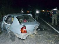 Kontrolden Çıkan Araç Takla Attı, 9 Aylık Bebek Öldü, 6 Kişi Yaralandı!