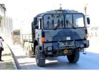 Hatay'da askeri malzeme sevkiyatı