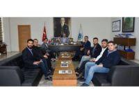 Çorlu TSO 14. Meslek Komitesi Başkan Albayrak'la görüştü