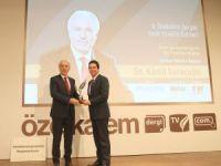 Başkan Kamil Saraçoğlu'na 'Yılın Belediye Başkanı' ödülü