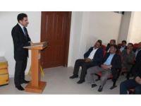 Kırsal kalkınma ve destekleme projeleri tanıtımı yapıldı