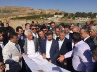 Milletvekilleri Kahta'da Sahil Yolu Projesini inceledi