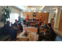 Anadolu Aslanları İş Adamları Derneği (ASKON) Kayseri Şubesinden, Vali Kamçı'ya ziyaret
