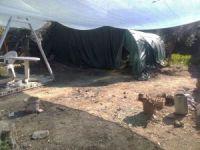Solucan çadırında define kazısı