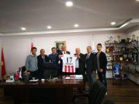 Adaspor'dan Başkan Işık'a ziyaret
