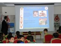 Çamlıca'da 'Çer-çöp' Projesi eğitimi