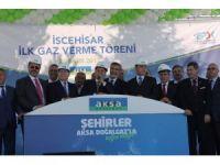 """Bakan Eroğlu, İscehisar Doğalgaz Hattı Giriş İstasyonu"""" açılış törenine katıldı"""