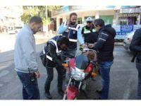 Polis ekipleri motosiklet uygulamalarına hız verdi