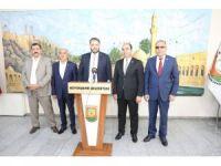 Pekin Büyükelçisi Önen'den büyükşehir belediyesine ziyaret
