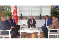 CHP Genel Başkan Yardımcısından Vali Ustaoğlu'na ziyaret