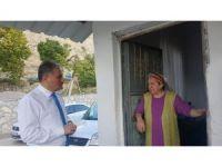 Başkan Çakır, Darende'de çalışmaları inceledi