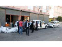 Gaziantep'te 13 saniyede 43 bin Euroluk vurgun