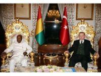 Cumhurbaşkanı Erdoğan, Gine Cumhurbaşkanı Alpha Conde'yi kabul etti