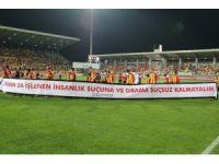 Süper Lig: Göztepe: 1 - Aytemiz Alanyaspor: 0 (İlk yarı)
