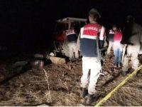 Tarlada traktörün altında kalan şahıs hayatını kaybetti
