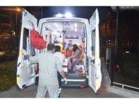 Manisa'da tır otomobile çarptı: 8 yaralı
