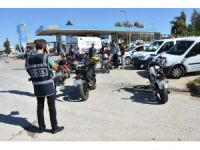 """Antalya'da """"Son Sürat-2"""" İsimli Motosiklet Denetimi Uygulaması"""