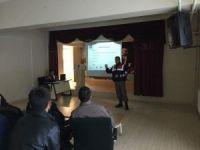 Şaphane'de, jandarmadan okul servisi şoförlerine seminer