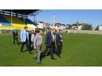 Fatsa Şehir Stadında yenile çalışmaları