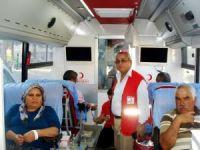 Kızılay, Sarıgöl'de 2 günde 110 ünite kan topladı