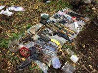 Erzincan'da teröristlere ait çok sayıda mühimmat bulundu
