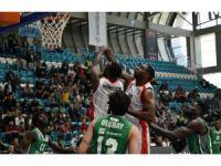 Tahincioğlu Basketbol Süper Ligi: Muratbey Uşak: 84 - Darüşşafaka Basketbol: 80